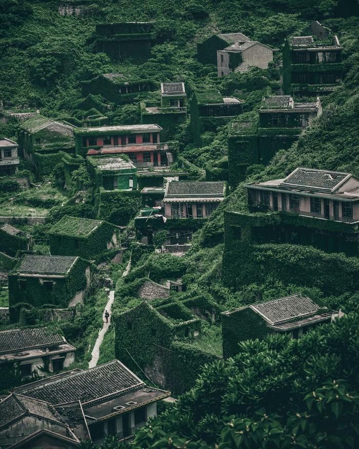 Заброшенная деревня в Китае. Заброшенное, Деревня, Китай, Интересное, Фотография, Природа, Красота природы, Красота, Длиннопост