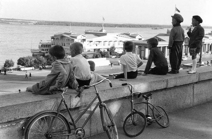 Мечтатели. Волгоград, СССР, 1960 год.