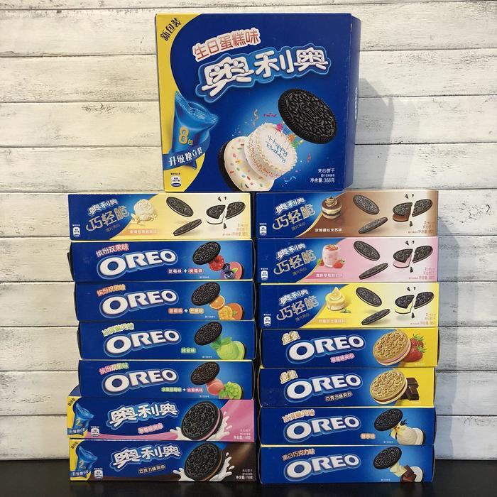 Азиатское Oreo | Печенье, вафли, подушечки | Дегустация Oreo, Сладости, Длиннопост, Азия, Китай, Печенье