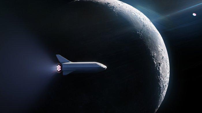 DearMoon Spacex, Bfr, Космос, Хидео Кодзима, Гений, Миллиардеры, Филантроп, Луна