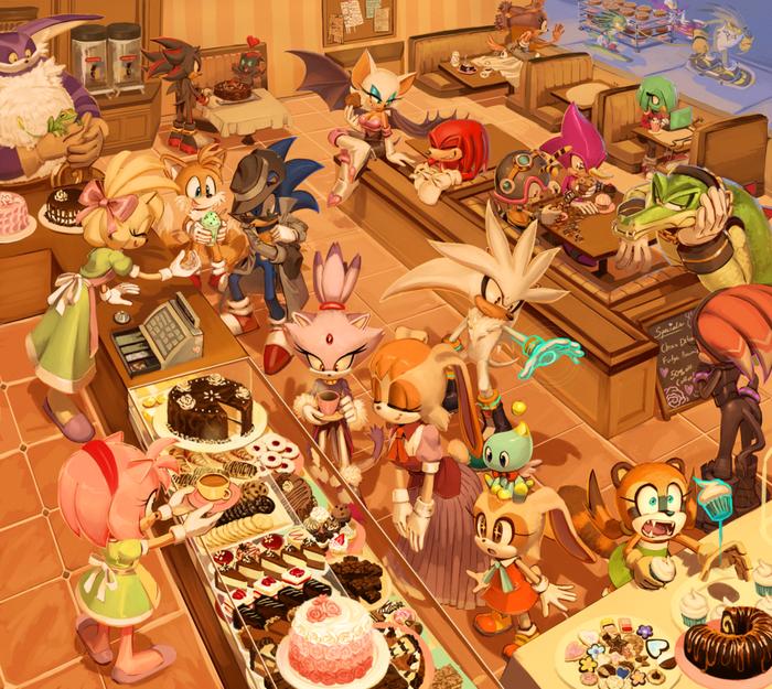 Bakery Игры, Арт, Sonic the hedgehog, Все