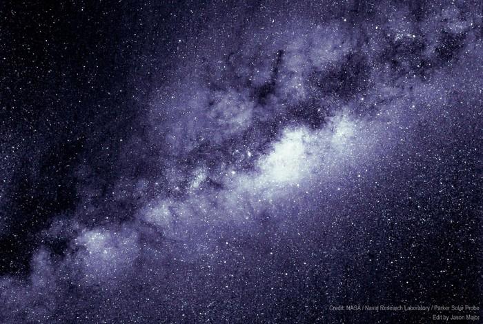 Получены первые изображения с зонда Паркер Космос, Млечный путь, Солнце, Parker Solar Probe, NASA, Длиннопост