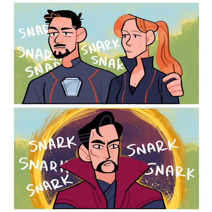 Где здесь Тони? Racheljpierce, Комиксы, Мстители: Война бесконечности, Тони Старк, Доктор Стрэндж
