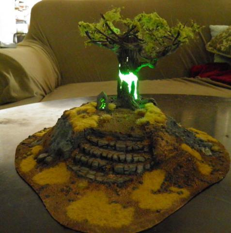 Светящееся дерево Моделизм, Дерево силы, Фотография, Длиннопост