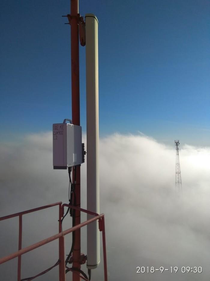 Утренний туман на рабочем месте