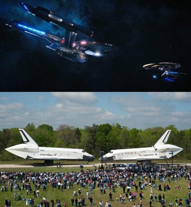 Когда встретились Enterprise и Discovery