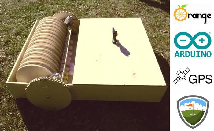 Как я разработал робота для сбора мячей для гольфа. Робот, Гольф, Разработка робота, Arduino, Видео, Длиннопост