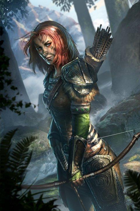 The Elder Scrolls: Legends. Норды. Часть 1 The Elder Scrolls: Legends, Арт, Норды, Карты, Длиннопост