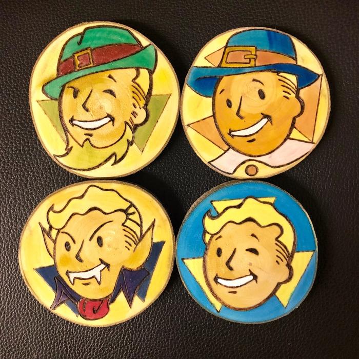Вечернее вдохновение Fallout shelter, Fallout, Выжигание, Рукоделие без процесса, Своими руками