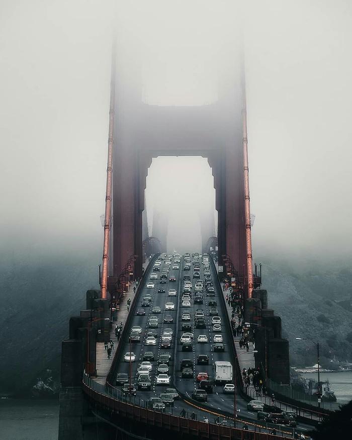 Мост в Сан-Франциско.
