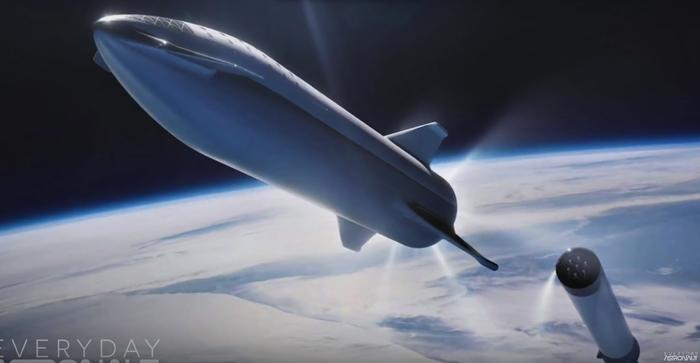 Итерации версий ракеты BFR Spacex, Космос, Ракета, Ракета-Носитель, BFR, Видео, Длиннопост