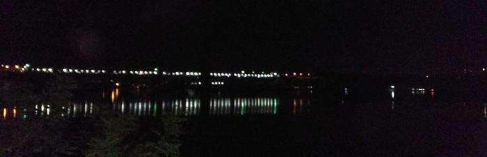 Просто фото с берега о.Хортица 3. Вечернее. Река, Запорожье, Хортица