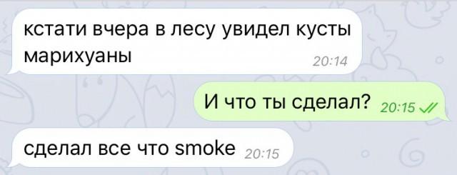 Всё что smoke