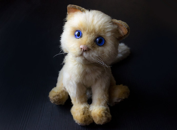Невская маскарадная кошечка. Handmade, Рукоделие без процесса, Авторская игрушка, Мягкая игрушка, Кот