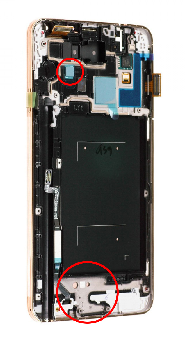 Помощь по ремонту Galaxy Note 3 Samsung, Galaxy, Galaxy Note 3, Дисплей, Термопаста, Ремонт
