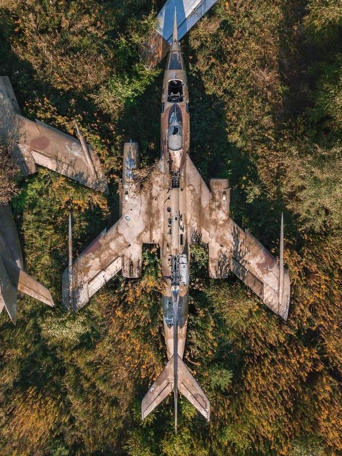 Заброшенный сверхзвуковой Як-28 Заброшенное, Самолет, СССР, Як-28, Фотография
