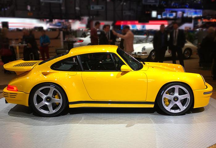 RUF CTR (2017) RUF, Porsche, Спорткар, Длиннопост