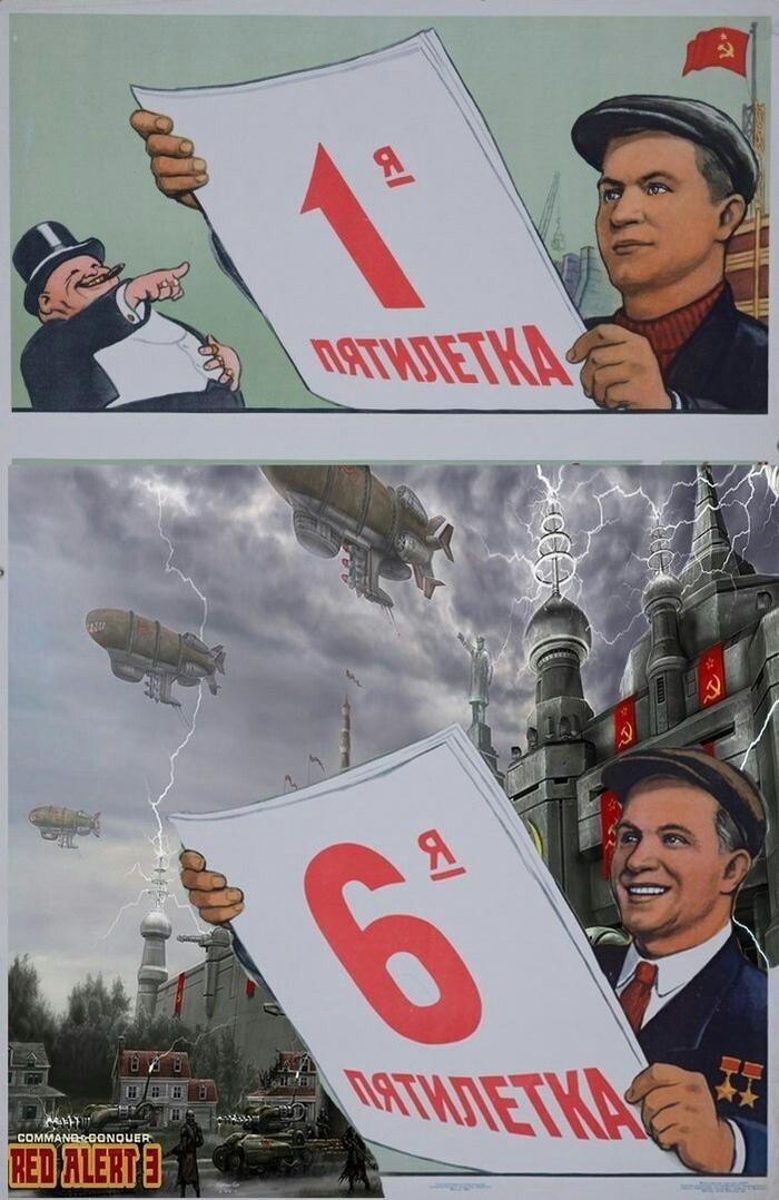 Начинает играть Soviet March