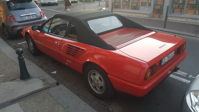 Немного машинок с улиц Этреты Авто, Ретроавтомобиль, Этрета, Франция, Ferrari, Длиннопост