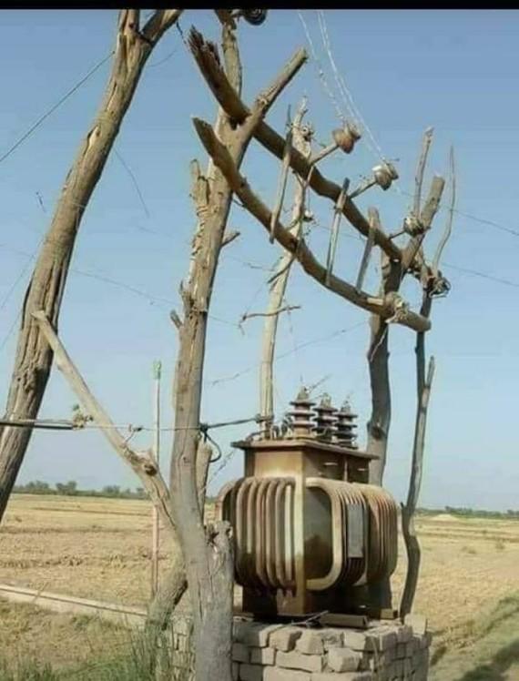 Деревянная ТП (дубль) Электросети, Дагестан, Длиннопост