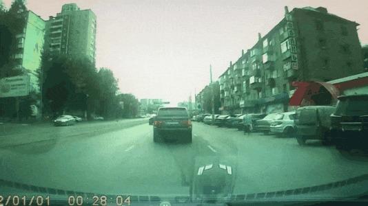 Прилетело #106 ДТП, Челябинск, Прилетело, Встречка, Гифка, Видео