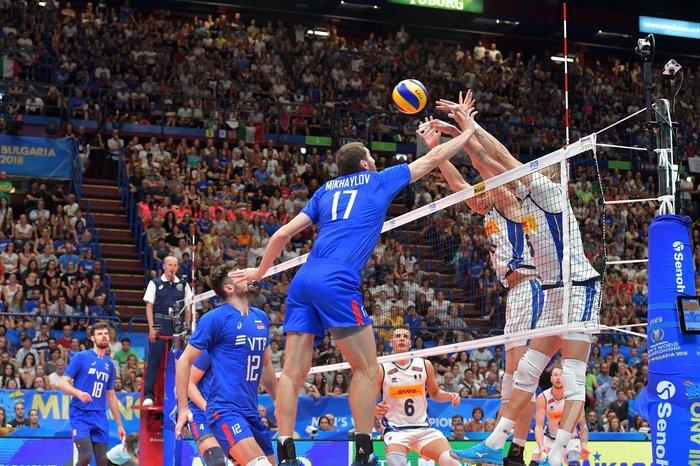 Россия обыграла Италию на ЧМ по волейболу Волейбол, Чемпионат мира, Россия, Италия, Гифка