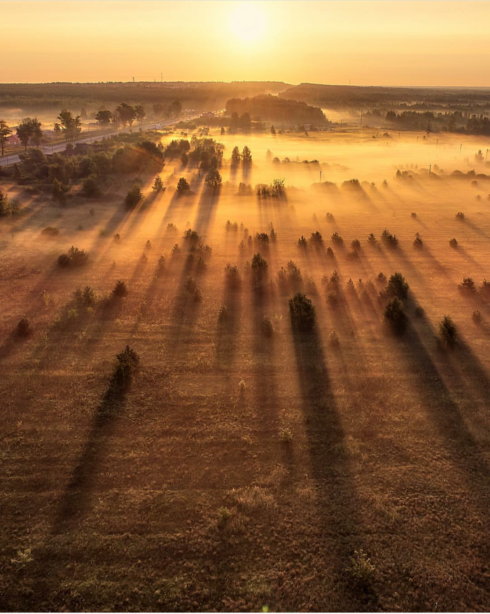 Рассвет в Золино, Нижегородская область.