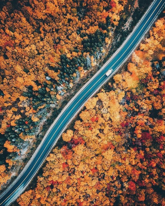 Осень в Канаде.