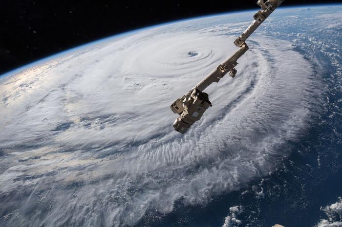 Как выглядит ураган из космоса Ураган, Климат, Фотография, Длиннопост, Космос, США, Ураган Флоренс