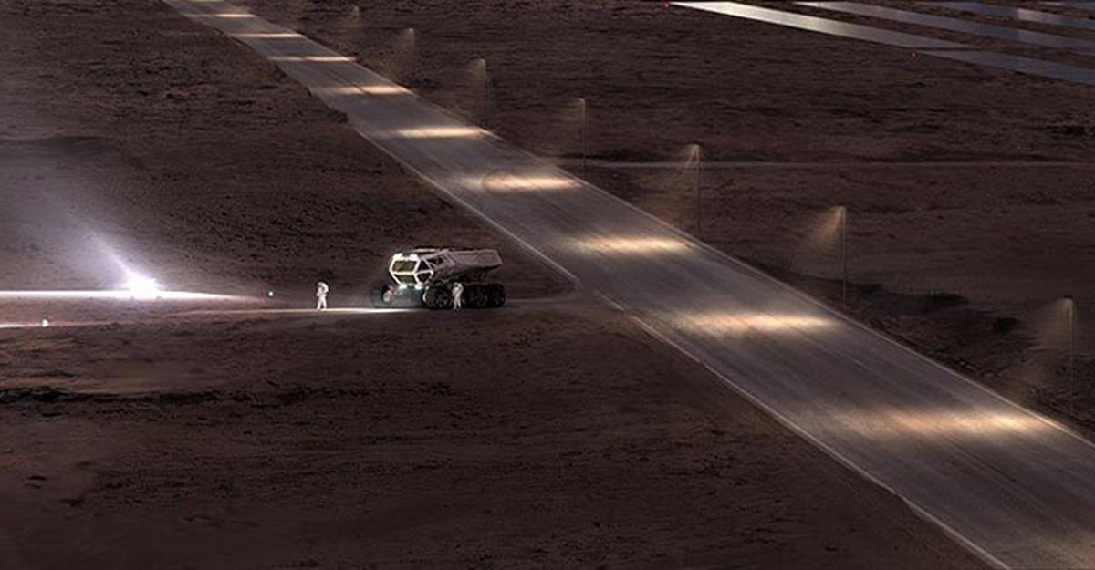 марсианский проект маск фото появляются как