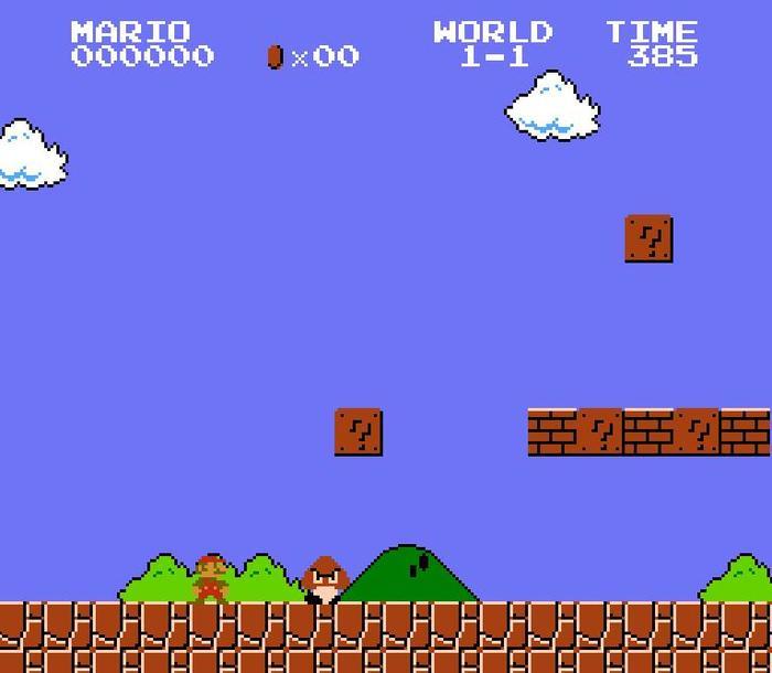 Super Mario Bros. 1985, Ретро-Игры, Nintendo, Super mario bros, Super Mario, Марио, Nes, Длиннопост