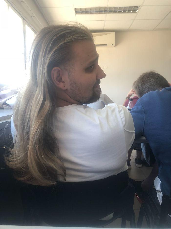 Когда захотел познакомиться с девушкой Фотография, Волосы, Длинные волосы, Первое впечатление, Длиннопост