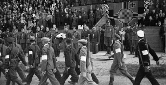 В Таллине траур в связи с изгнанием нацистских войск Общество, Политика, История, Эстония, Ересь, Нацизм, Адольф Гитлер, ИА regnum