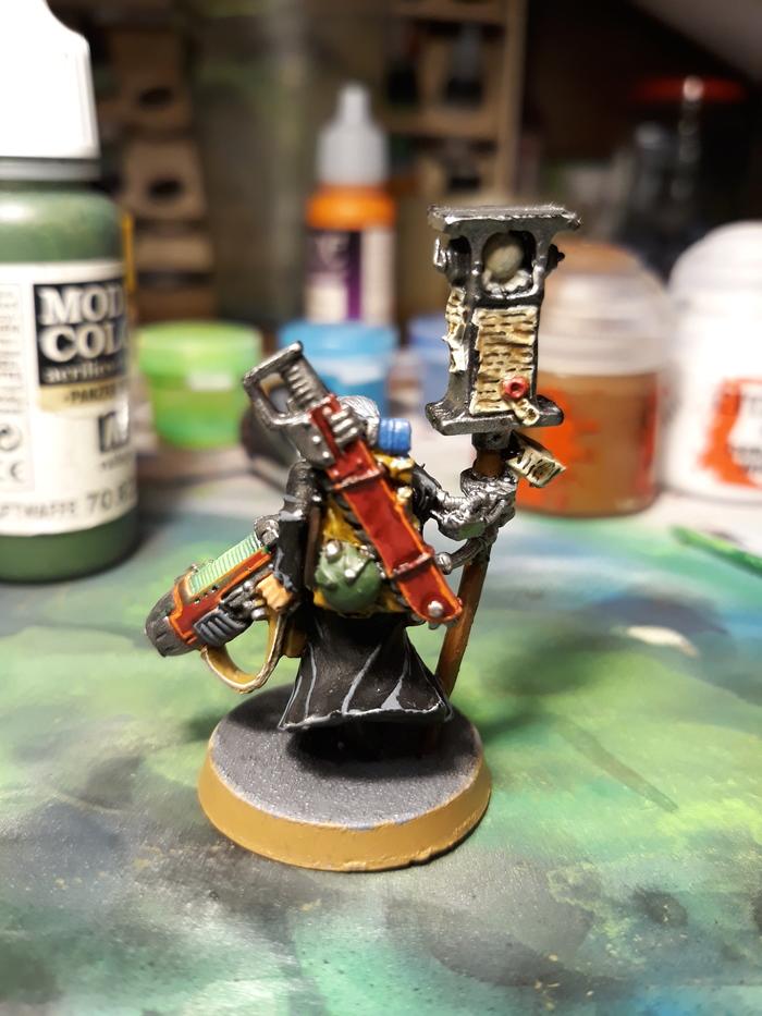 Свита для инквизитора Warhammer 40k, Покраска миниатюр, Wh miniatures, Длиннопост
