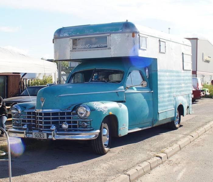Автодома на базе классических Cadillac Cadillac, Дом на колесах, Кемпер, Ретро, Ретроавтомобиль, Длиннопост