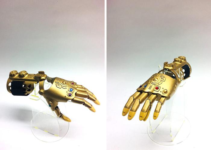 Танос обзавидуется: протез руки как Перчатка Бесконечности Супергерои, Marvel, Здоровье, Дети, Видео, Длиннопост