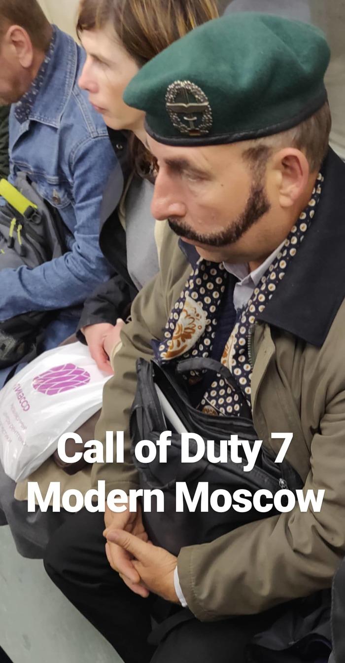 Когда в метро угарнул один олдфаг Call of Duty, Капитан прайс, Прайс, Call of Duty: Modern Warfare, Длиннопост