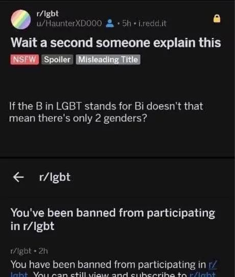Секундочку Вопрос, ЛГБТ, Reddit, Толлерастность