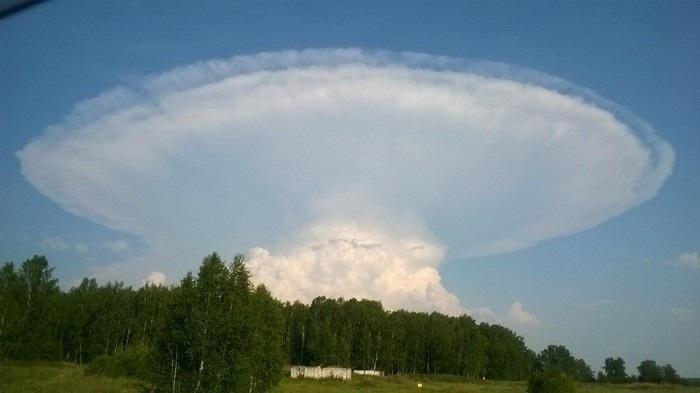 Пришел северный писец :) Природные явления, Ядерный взрыв, Облака