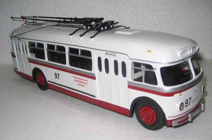 Модели, игрушки для взрослых Троллейбус, Автомоделизм, Модель, Длиннопост