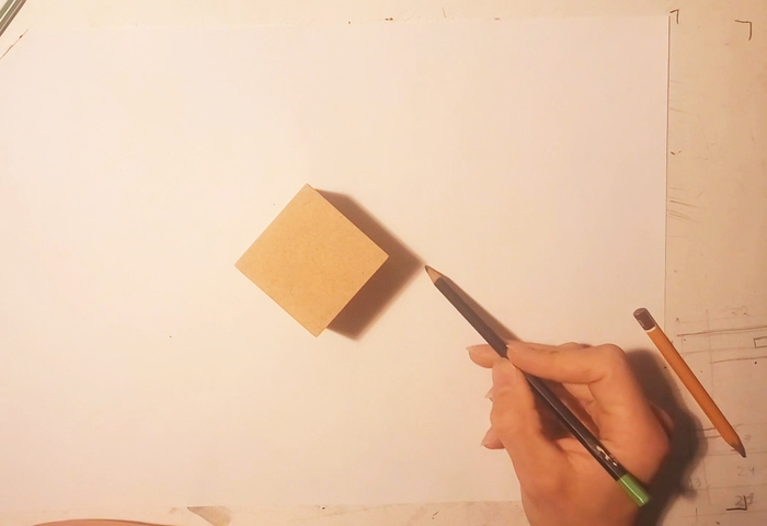 Построение теней. Взгляд под неожиданным углом. Как научиться рисовать. Кривая линия, Тень, Рисунок, Видео, Длиннопост, Уроки рисования
