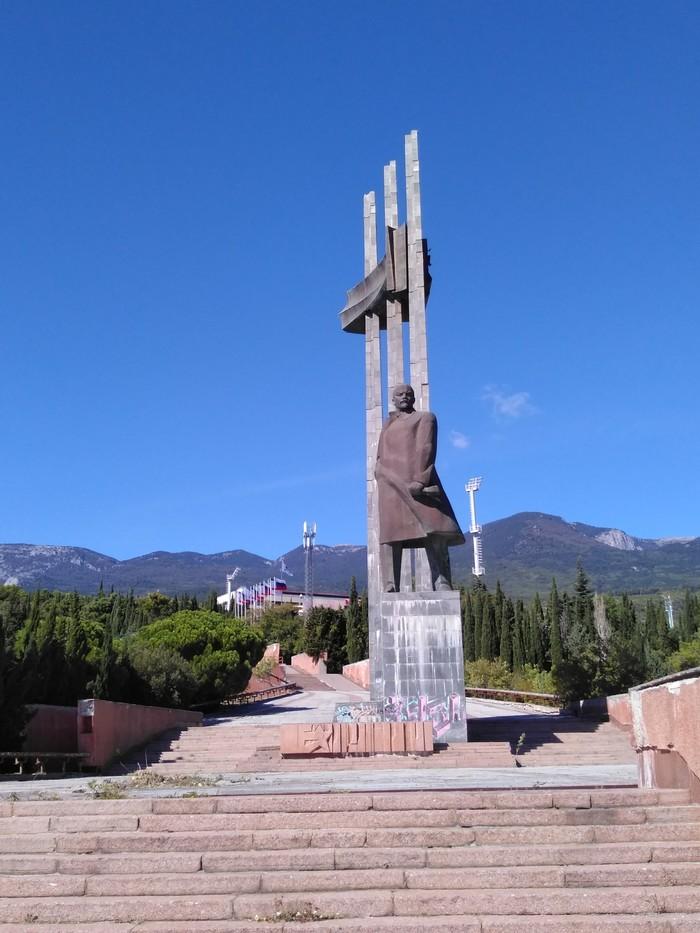 Ленин в Артеке Ленин, Монумент, Артек, Крым, Длиннопост