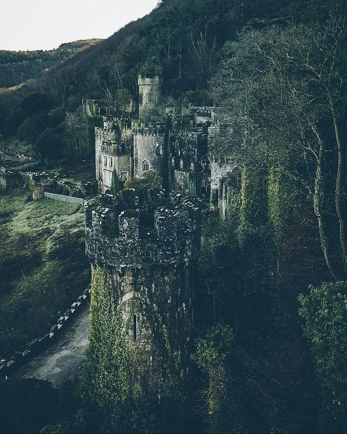 Руины замка.
