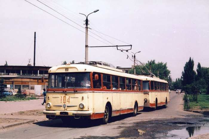 Skoda 9Tr - легенда Советского времени Skoda 9Tr, Троллейбус, Электротранспорт, Длиннопост