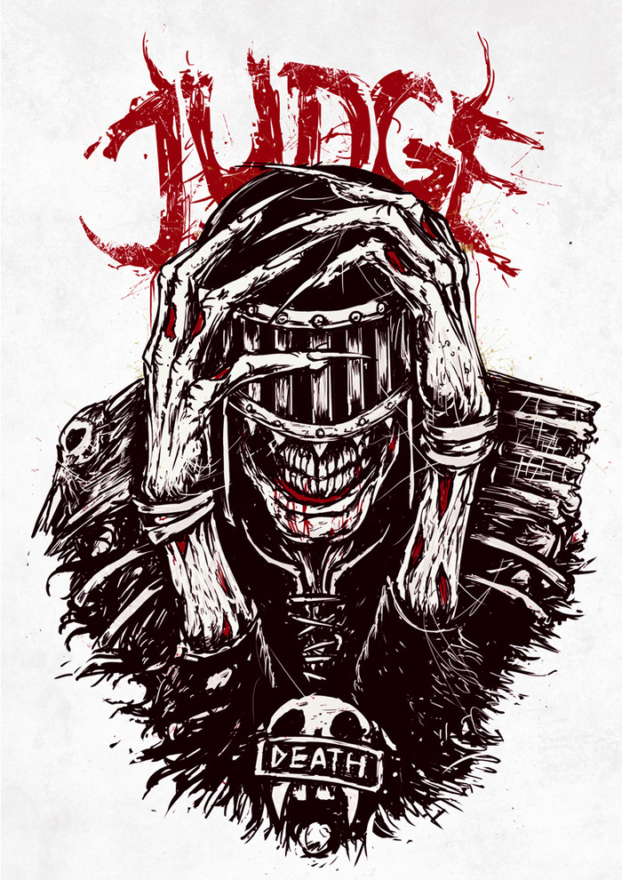 Судья смерть Судья смерть, Судья Дредд, Длиннопост