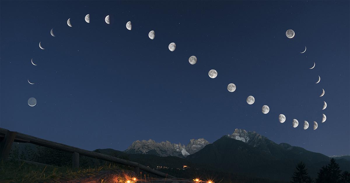 уже все фазы луны с фото карьеру смог