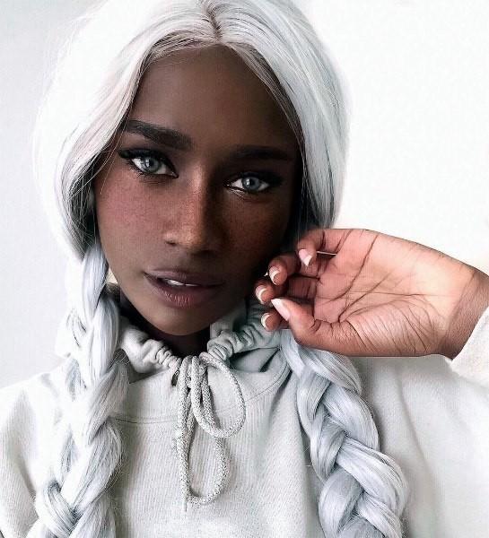 Модель африканского происхождение с европейской внешностью Девушки, Модели, Красота, Внешность, Длиннопост