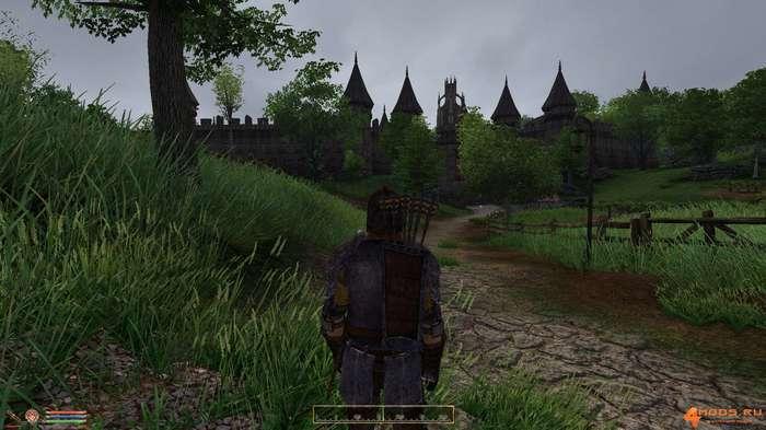 В свет вышла графическая сборка на Oblivion The Elder Scrolls IV: Oblivion, Обливион, Сборка, Моды, Видео, Длиннопост