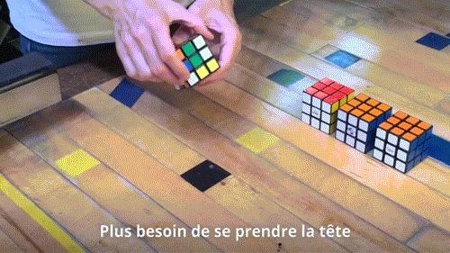 Кубик Рубика для ленивых