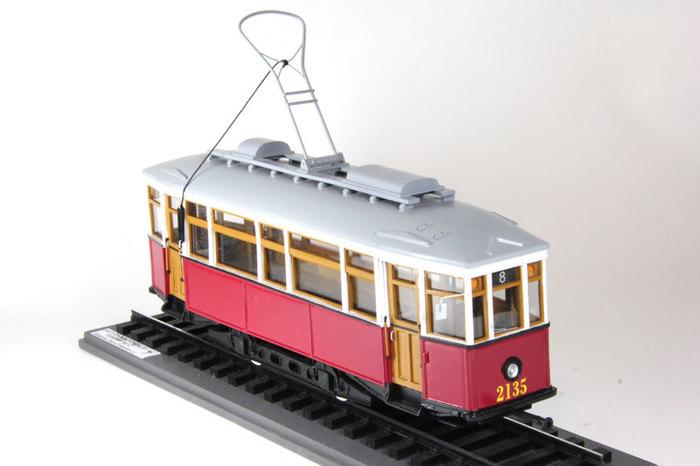 Модели, игрушки для взрослых 2 Модели, Трамвай, Электротранспорт, Длиннопост